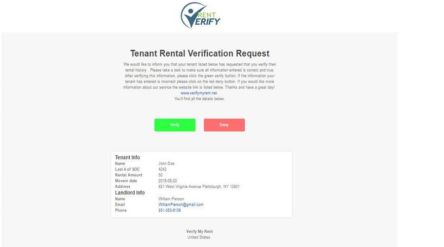 Renter Verification Form Tenant Verification Form Dwarka Parichay